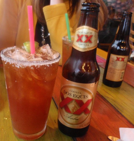 Michelada, Cuban red beer